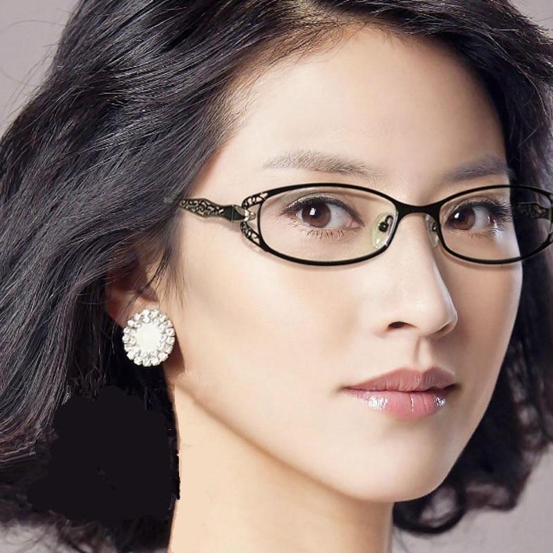 aa79218b306 Vazrobe Glasses Women Optical Prescription Points Ladies Myopia Diopter  Small Spetacles 1.56 1.61 1.67 Photochromic Progressive