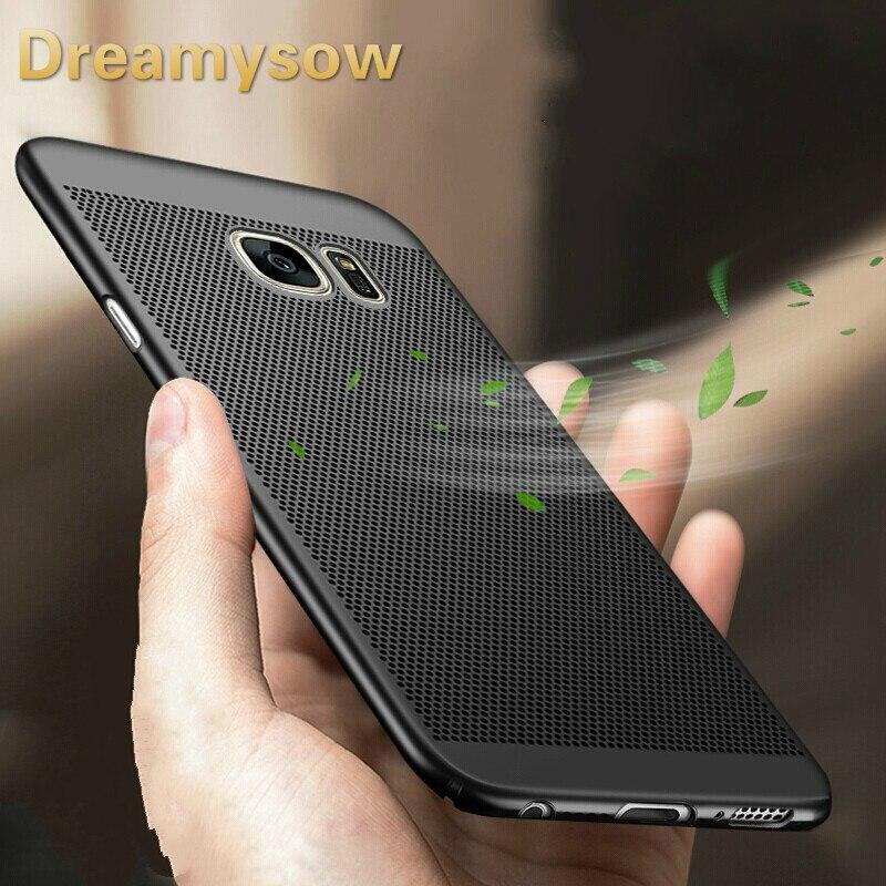 Cooling Phone Cover For Samsung S6 S7Edge S8 S9Plus Heat dissipation Galaxy J1 J2 J3 J5 J7 Prime J320 J3 J510 J5 J710 2016 Pro
