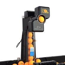 Пинг-Понг автоматический мяч машина Настольный теннис роботы подарок 100 шарики костюм для практики 40 мм Двойные колеса обучение обслуживание пинч