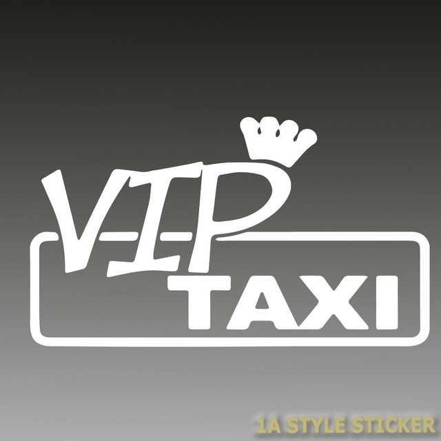 Us 149 Car Styling For Vip Taxi Aufkleber Faketaxi Aufkleber Darf Er Das Dapper Aufkleber Tuning Auto In Car Stickers From Automobiles