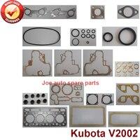 Reparo completo Overhaul junta do motor completo conjunto kit para Kubota motor: V2002