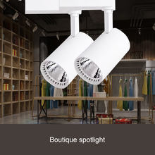 QYJSD LED Focus Track Light Flexible Angle High Quality High Brightness LED Spotlight For Specialty Store Showroom Lighting