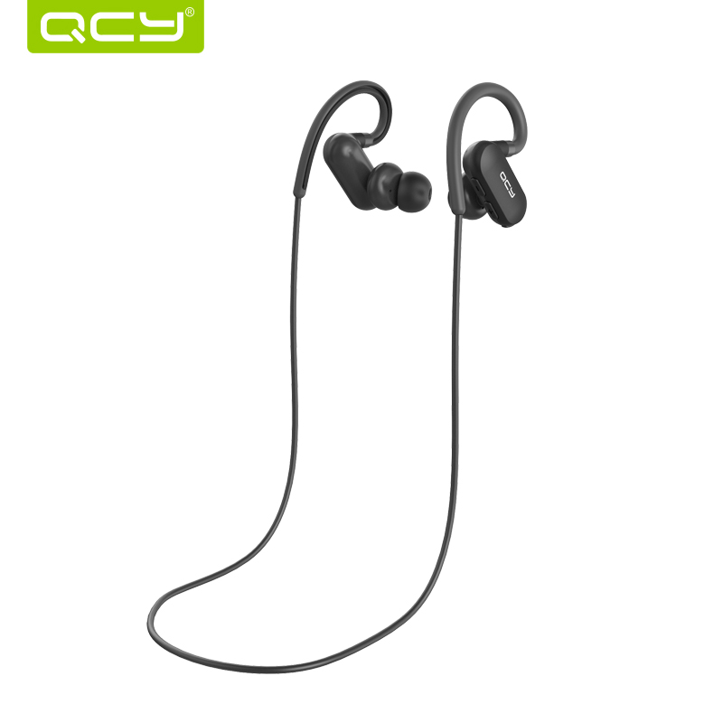 2018 QCY QY31 Bluetooth Headphones with Mic Wireless Earphones Sports IPX4 Headphone Stereo Headset original f5 sports bluetooth headset sd card slot auriculares music headphones mic ipx4 wireless earphones fm radio mp3 player
