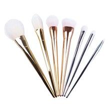 7 Pcs/Set Makeup Brushes Eye Shadow Powder  Eyeliner Foundation Brush Make Up Brush Pincel Maquiagem