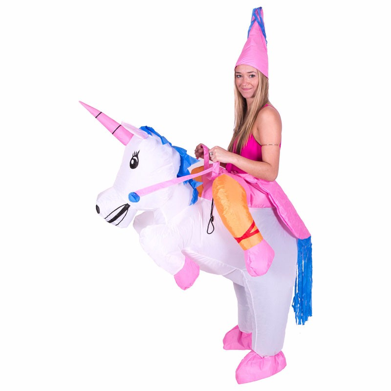 2016 Purim Halloween Inflatable Unicorn Costumes Kids Adults Inflatable Princess Pegasus Outfit Fancy Suit Party Fancy Dress (3)