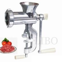 Neue Ankunft Hand Gegossen Aluminium Manuellen Fleischwolf Fleischwolf Maschine Wurst Tisch Kurbel Werkzeug für Haus Küche Cutter Slicer Rindfleisch