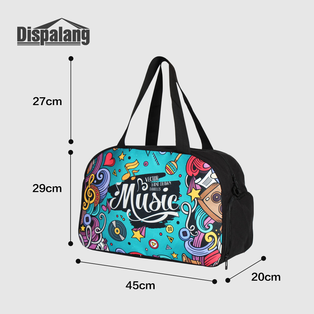 Dispalang Unique Diamond Unicorn Design Travel Luggage Duffel Bags For Teenage  Girls Canvas Women Shoulder Messenger Weekend Bag-in Travel Bags from  Luggage ... a5c250589a