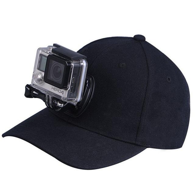 hd baseball cap camera mount hidden spy tripod carbon fiber head hero