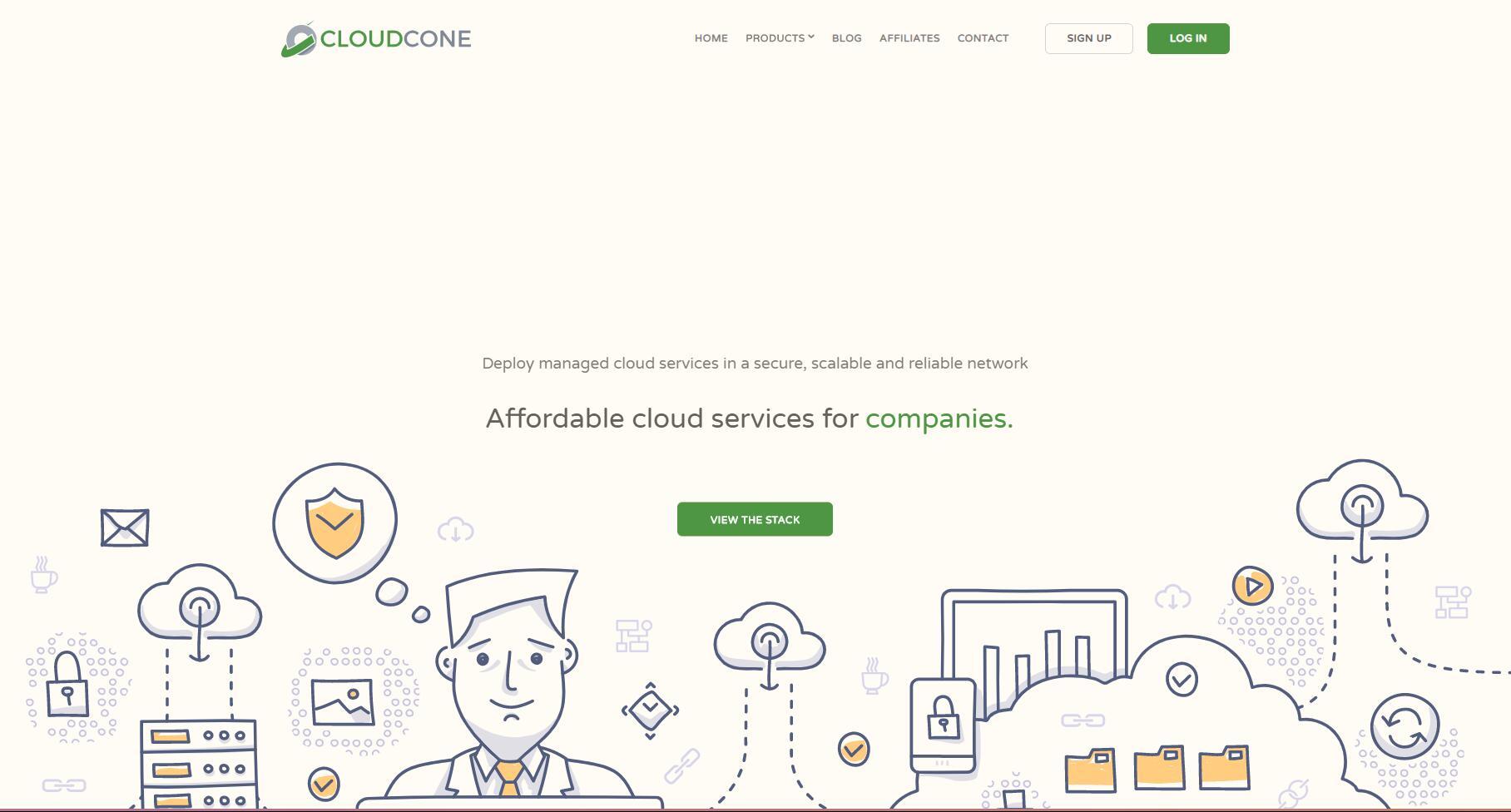CloudCone : $2.8/月的CN2 GT线路VPS / KVM / 1T流量 / 自定义防火墙 / 支付宝 / PayPal