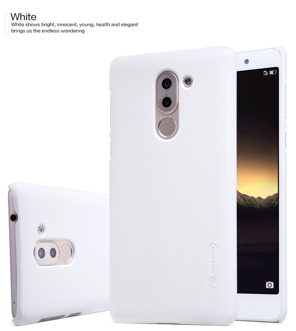 Nillkin Super Frosted Shield Case Back Cover For huawei honor 6x case PC Back Cover Case For honor 6x cover case+screen film