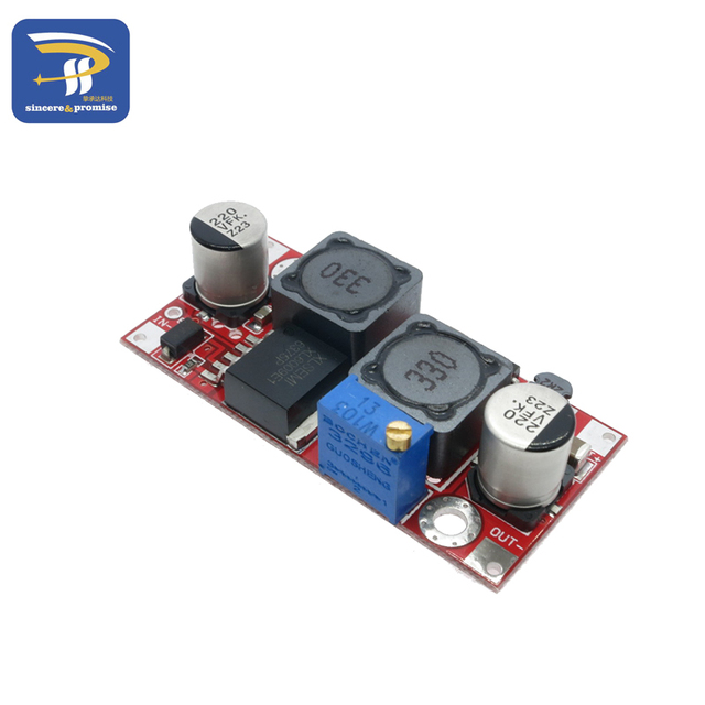 Boost Buck DC-DC Adjustable Step Up Down Converter XL6009 Power Supply Module 20W 5-32V to 1.2-35V High Performance