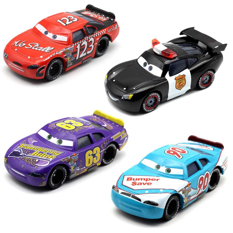 Disney Pixar Cars 3 Racing Center Danny Swervez No.19 Lightning Mcqueen 1:55 Metal Toys Car Kids Christmas New Year Gift Reliable Performance Toys & Hobbies