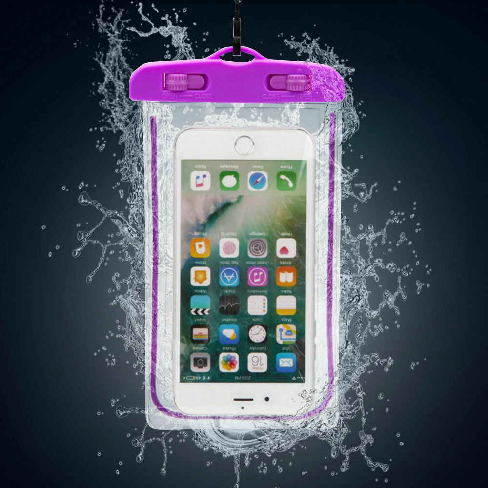Nouveau sac de poche sous-marine étanche pour la natation étui pour iphone sac de téléphone portable en PVC Transparent de haute qualité