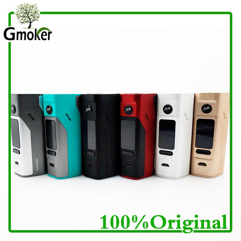 Prix pour D'origine wismec reuleaux rx2/3 tc 150 w 200 w boîte mod extensible firmware pour cigarette électronique vaporisateur essuyer