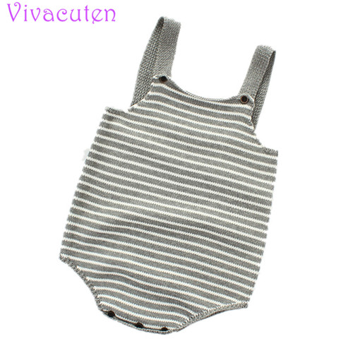 Spring Baby Knitted Romper For Girls Boys Overalls Cotton Infant Baby Jumpsuit Toddler Newborn Baby Boys Clothes Baby Clothes cute baby infant high qualit toddler chef cotton costume 3 piece clothes hat white top plaid pants for newborn boys suits hot