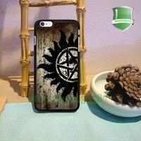 Supernatural Anti Original Black Cell Phone Cases For Iphone 7 7plus 6 6 Plus 6s 6splus