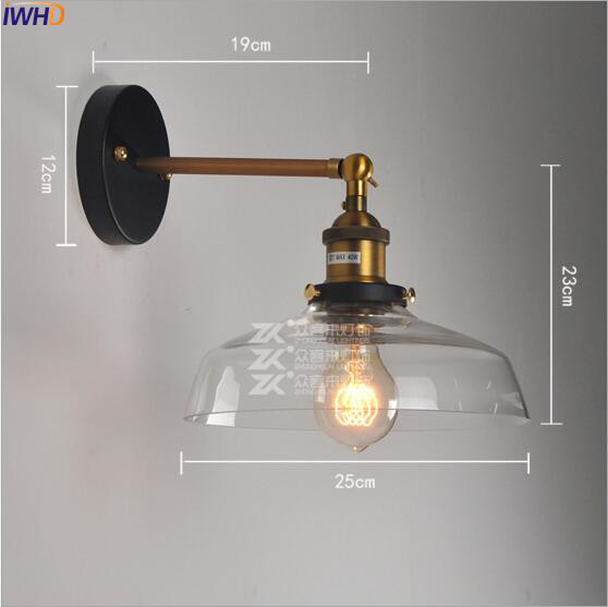Lights & Lighting Iwhd Loft Antique Vintage Wall Lamp Bedroom Vathroom Stair Edison Retro Industrial Wall Light Sconces Wandlamp Home Lighting Led Indoor Wall Lamps
