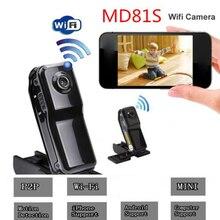 MD81 MD81S IP מיני מצלמה Wifi HD 720 P אלחוטי וידאו מקליט DV DVR מצלמת וידאו מעקב אבטחת מיקרו מצלמת תנועה זיהוי