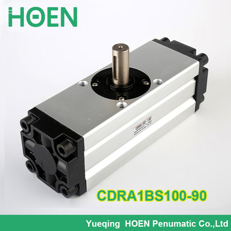 CDRA1BS100-90 SMC type Rotary Actuator Rack and Pinion Type CRA1 CDRA1BS series 90 180 rotary angle pneumatic cylinder стоимость