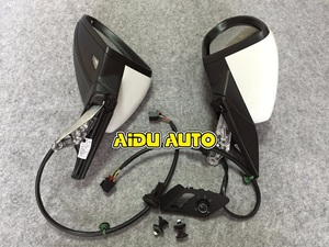 Image 2 - USE For VW Golf 7 MK7 VI Mirror With Cover AUTO folding electric folding Mirror Switch GLASSES Cover 5GG