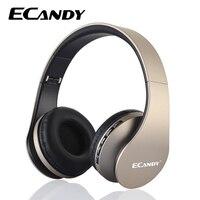 ECandy Wireless Bluetooth Headphone Noise Cancelling Super Bass Music Headphones Mic Foldable Headset For Smartphones Earphone