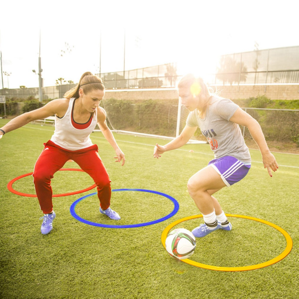 Sales Promotion 50cm Sports Training Agility Speed Rings Football Soccer Basketball Training Wholesale Hot