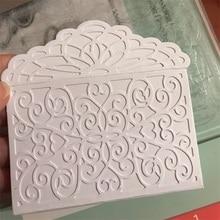 McDies 106x155mm Customized Envelope Steel Metal Die Cutting Dies Scrapbooking Embossing Cut Stencils DIY Decorative Cards