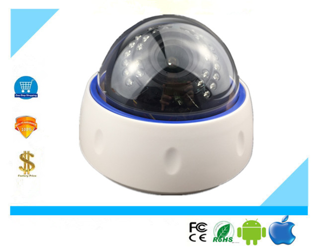 2 8 12mm Auto Fouce IP Ddome Camera Electric Zoom Lens 3516E SC2235 30 LEDs Infrared
