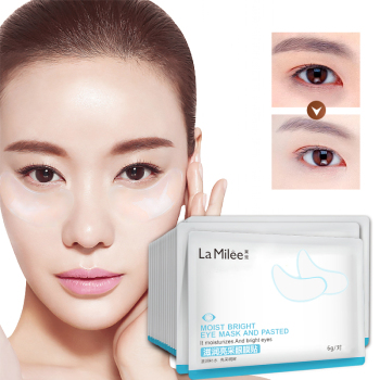 【2pairs】Crystal Collagen Eye Mask Crystal Eyelid Patch Anti Wrinkle Moisture Under Eye Dark Circle Remover Eye Patch image