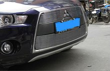 For High quality stainless steel Front Grille Around Trim font b Racing b font font b