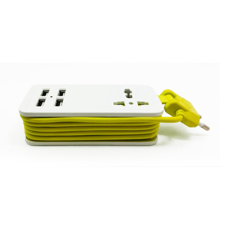 цена на LIXF Extension Electrical Socket Portable Charging Ports USB Travel Household Power Strip Electrical Socket Power Sockets