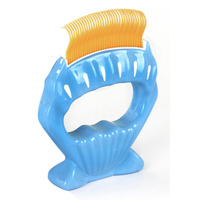 Double Heads Pet Hair Trimmer Comb Portable Dog Cat Grooming Dressed Hair Comb Hair Removing Shell