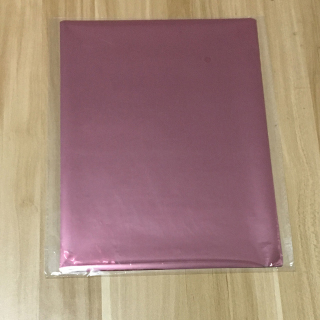 50 шт. золотой черный красный горячего тиснения фольги бумажный ламинатор для ламинирования переноса на элегантность лазерный принтер бумага для рукоделия 20x29 см A4 - Цвет: Pink