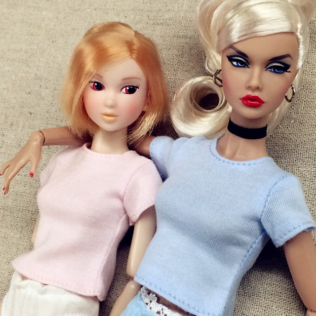 Casual Style 1/6 Doll's T-Shirt