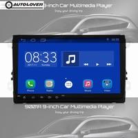 Autolover 9001A Android 7,1 автомобильный мультимедийный плеер 9 дюймовый HD Сенсорный экран Bluetooth 4,0 Wi Fi gps радио тюнер заднего вида для VW