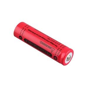 Image 4 - 20 baterias recarregáveis do li íon do diodo emissor de luz da bateria das baterias da tocha da lanterna do diodo emissor de luz da bateria de 3.7 v 12000mah 18650