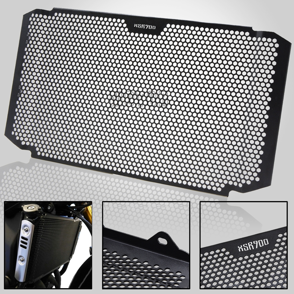 For Yamaha XSR900 XSR 900 2016 2019 2017 2018 Motorcycle Bike Accessories Aluminum Radiator Grille Grill