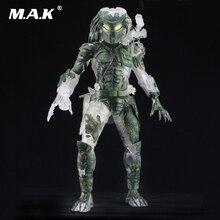 цена на Collectible Anime Figure Predator 7 Jungle Hunter Demon PVC Action Figurine Figure NECA 30TH Anniversary Doll Model for Gift
