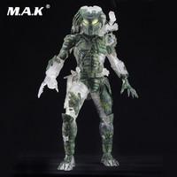 Collectible Anime Figure Predator 7 Jungle Hunter Demon PVC Action Figurine Figure NECA 30TH Anniversary Doll Model for Gift