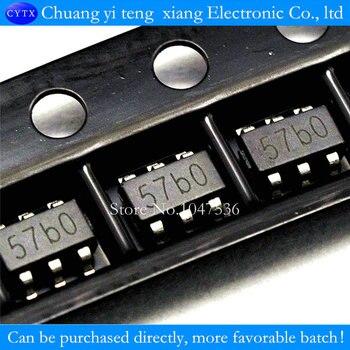 TP4057 batería de litio que carga IC 500 ma, protección de conexión inversa de la batería SOT-23-1% 6 100 unids/lote