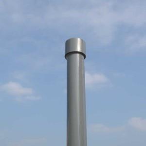 Image 4 - 433MHz omni fiberglass antenna UHF400 480MHz base station antenna radio antenna N Female connector outdoor roof monitor antenna