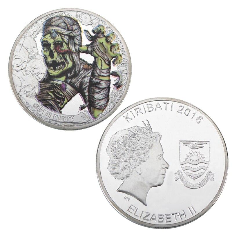 WR 999 monedas de plata nieve salvaje Wolf patrón monedas ...