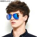 Bluekiki aviador óculos de sol dos homens polarizados marca designer gafas oculos de sol masculino óculos de condução do vintage original com caixa #3025