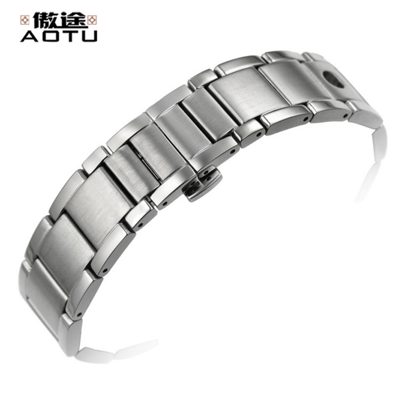 20MM Stainless Steel Watchbands For Tissot 1853 PRS516 Series T91 Men Watches Top Quality Bracelet Belt Men's Watch Band Belt men s watch strap for tissot locke visodate t41 stainless steel watches band male bracelet belt watchbands correas para reloj