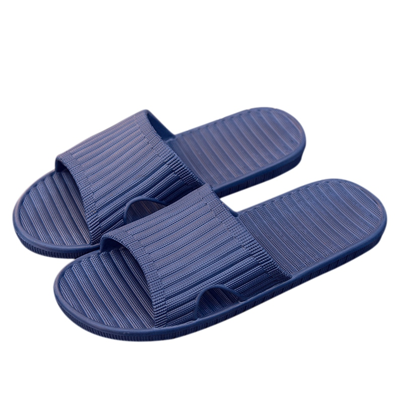 2018 Flat Slides Men Slippers Indoor Outside Home Non-slip Massage Slippers Bathroom Slippers Beach Slippers Male Solid Shoes fghgf shoes men s slippers mak