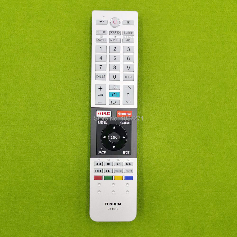new original remote control ct-8516 for Toshiba 43U7750 49U7750 55U7750 65U7750 lcd tv