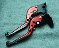 8-colors CNC Foldable Extendable brake clutch levers For HONDA CBR600F CBR 600 F CBR600 F CBR 600F 2011 2012 2013 //