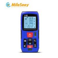 Mileseey MINI Laser Rangefinder 40M 60M 80M 100M Digital Laser Distance Meter Laser Tape Measure Diastimeter