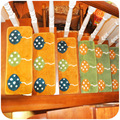 Free shipping thick tufted slip stair mats, repeated use of self-adhesive glue-free mats, entrance mats K3899