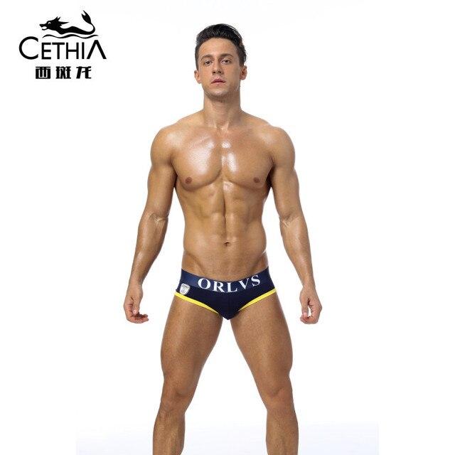CETHAI ORLVS marca sexy hombres Ropa interior Calzoncillos bomba ...
